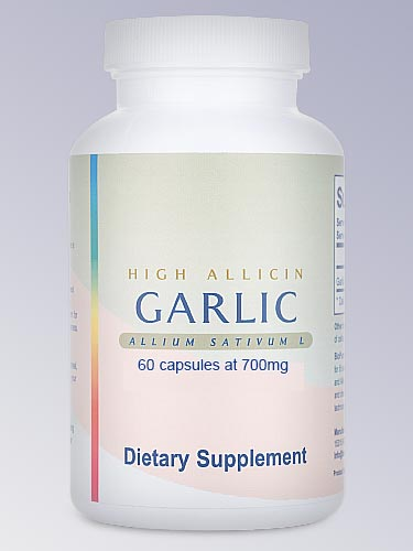 High Allicin Garlic 60 Capsules