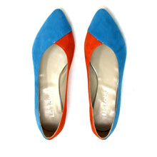 Sienna Bicolor Orange & Light Blue