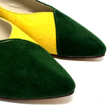 Sienna Bicolor Green & Yellow