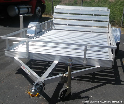 Low Profile Open Plank Utility Trailer