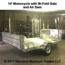 14' Motorcycle Trailer
