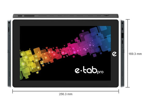 "TABLET E-TAB PRO 10,1"" LTE W10PNAO QC2.6/4GB/64GB/2MP-5MP/FHDIPS/HD600"