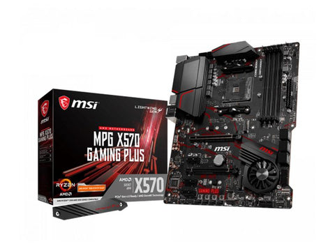 MB MSI X570 GAMING PLUS MPG RYZEN 9 4D4 6S3 U3.2 GBLAN ATX HDMI