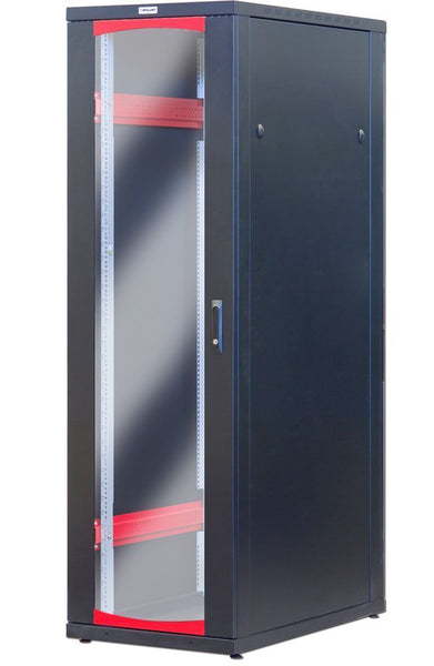 Armadio Server Rack 19'' 600x1000 42 Unita' Nero serie Ideal