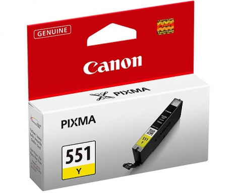 INK CANON CLI-551Y GIALLO PER MG 5450
