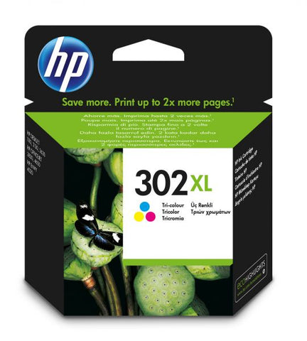 INK HP F6U67AE N302XL CIANO/MAGENTA /GIALLO 8ML