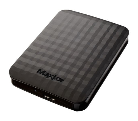 HD EXT 2,5 2TB MAXTOR M3 USB3 PORTABLE BLACK RETAIL