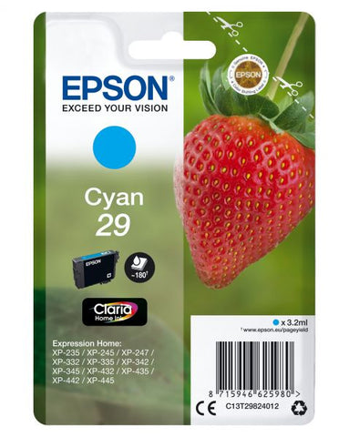 INK EPSON CIANO PER XP-235 3,2ML