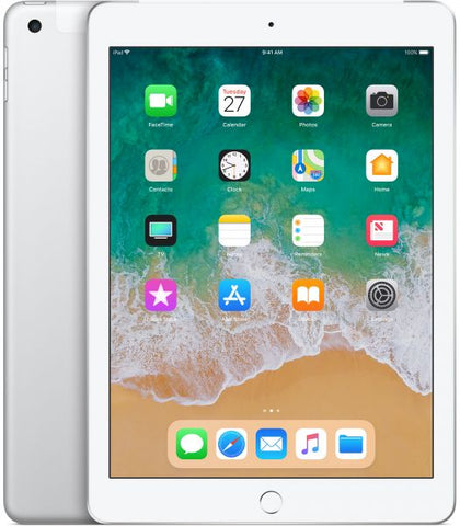 TABLET IPAD 128GB CELL SILVER 2018