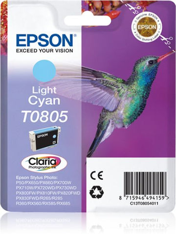 INK EPSON CIANO CHIARO PER STYLUS PHOTO R265/285/360