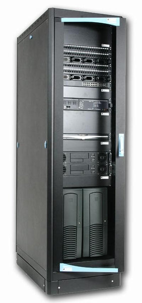 Armadio Server Rack 19'' 600x1000 38 Unita' Nero serie Lite