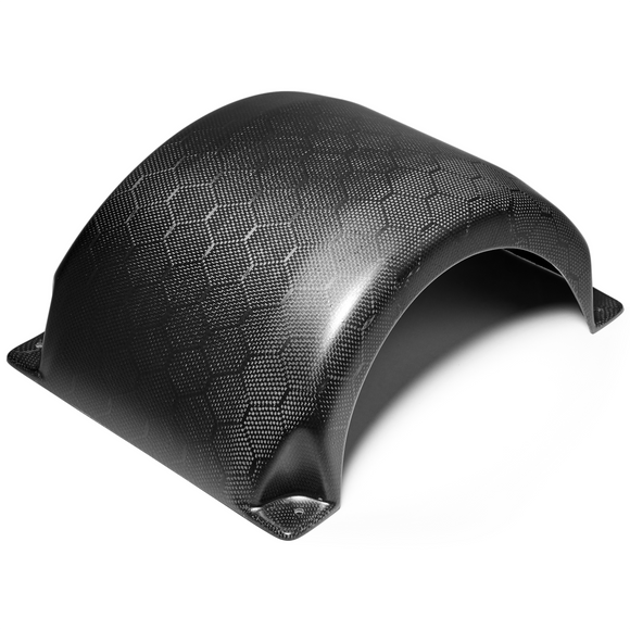 Craft&Ride Bolt-On Honeycomb Carbon Fiber Fender for Onewheel in Matte