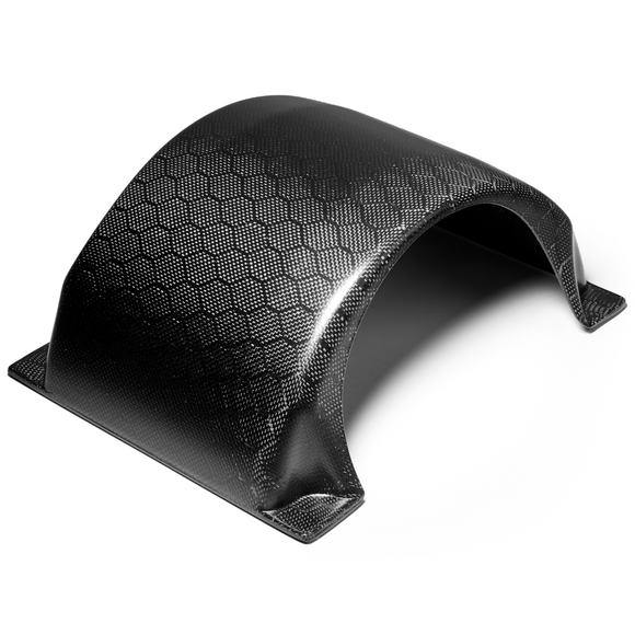 Craft&Ride Magnetic Carbon Fiber Fender for Onewheel™ in Matte Honeycomb - Craft&Ride