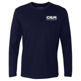 Craft&Ride Worldwide Longsleeve T-Shirt in Navy