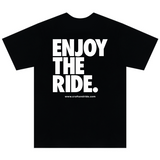 Craft&Ride Enjoy The Ride T-Shirt in Black