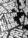 Enjoy The Ride Stickers