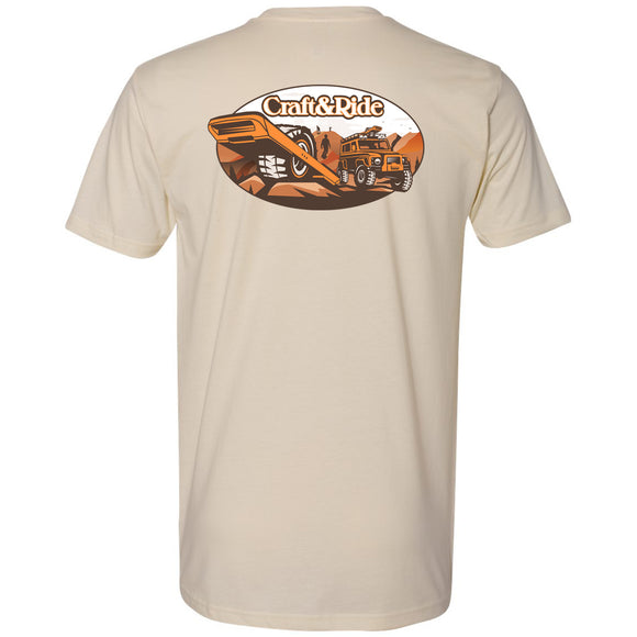 Craft&Ride Offroad T-Shirt in Cream