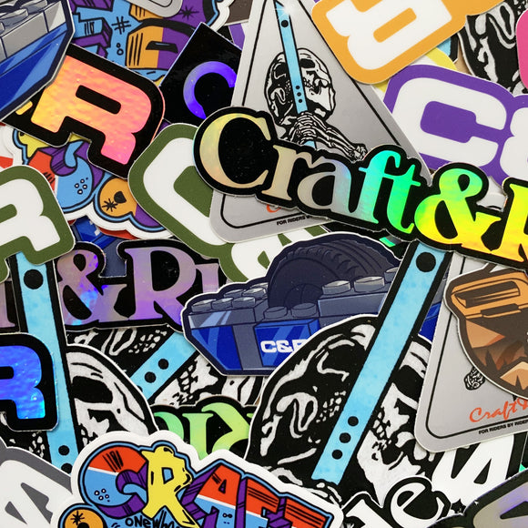 Craft&Ride Sticker Pack
