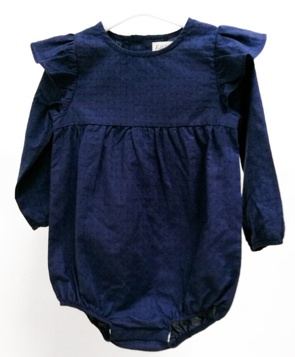 WILLOW ROMPER - NAVY