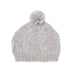 CABLE KNIT BEANIE GREY