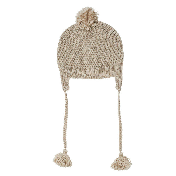 LONDON BEANIE OATMEAL