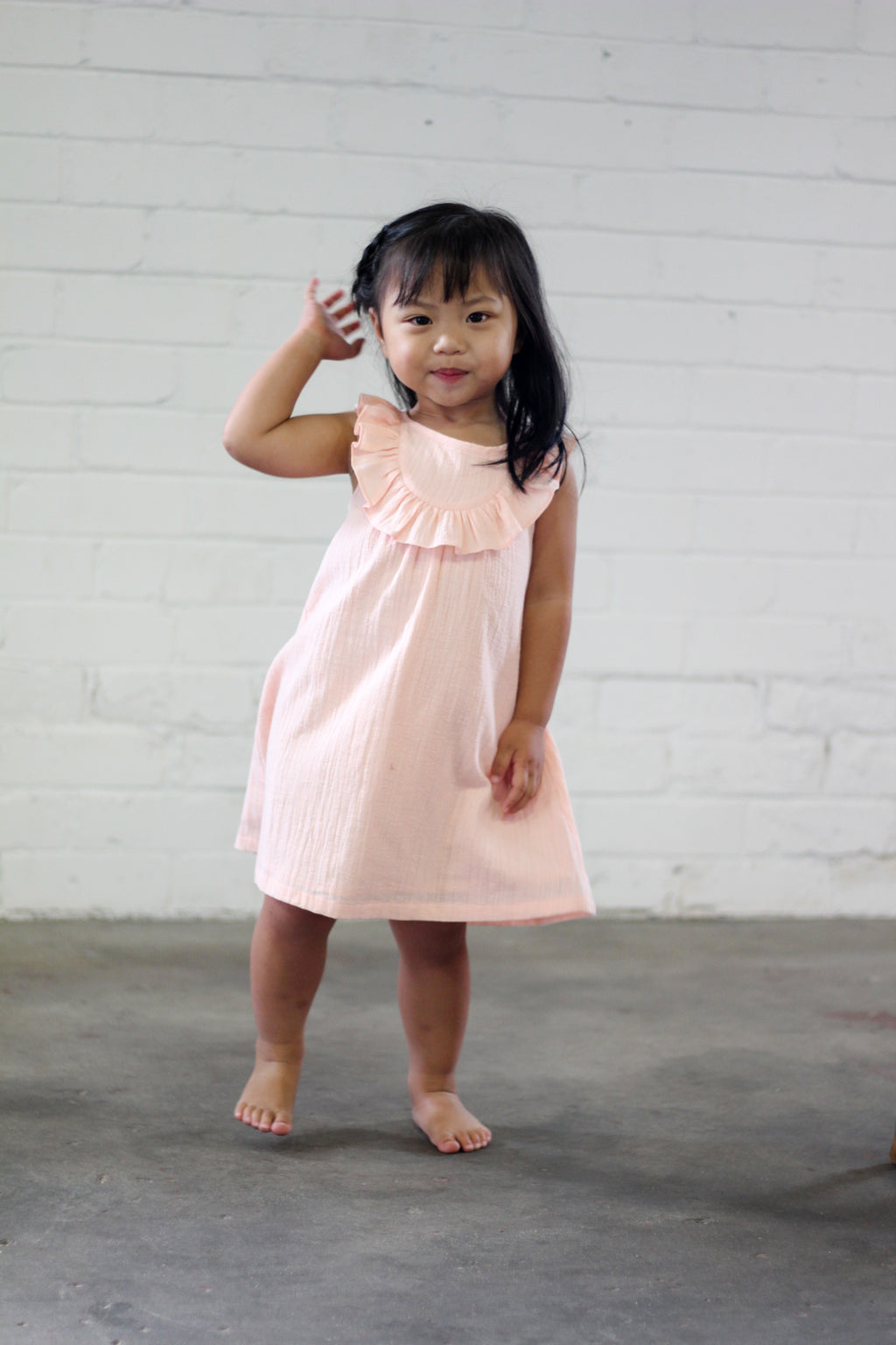 Ellie Dress- Peach