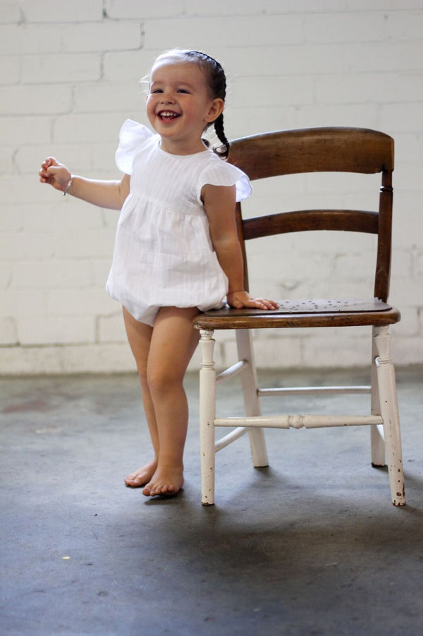 Willow romper - Dove