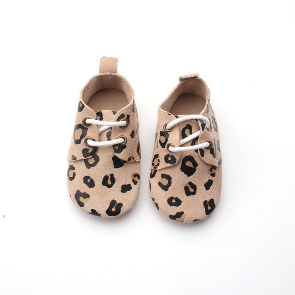 Lengau Cheets Oxfords – Leopard