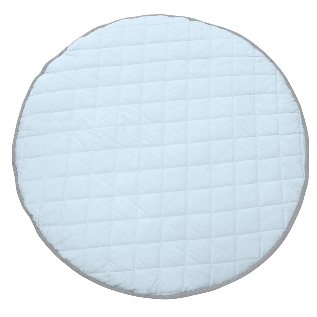 CHAMBRAY QUILTED PLAYMAT