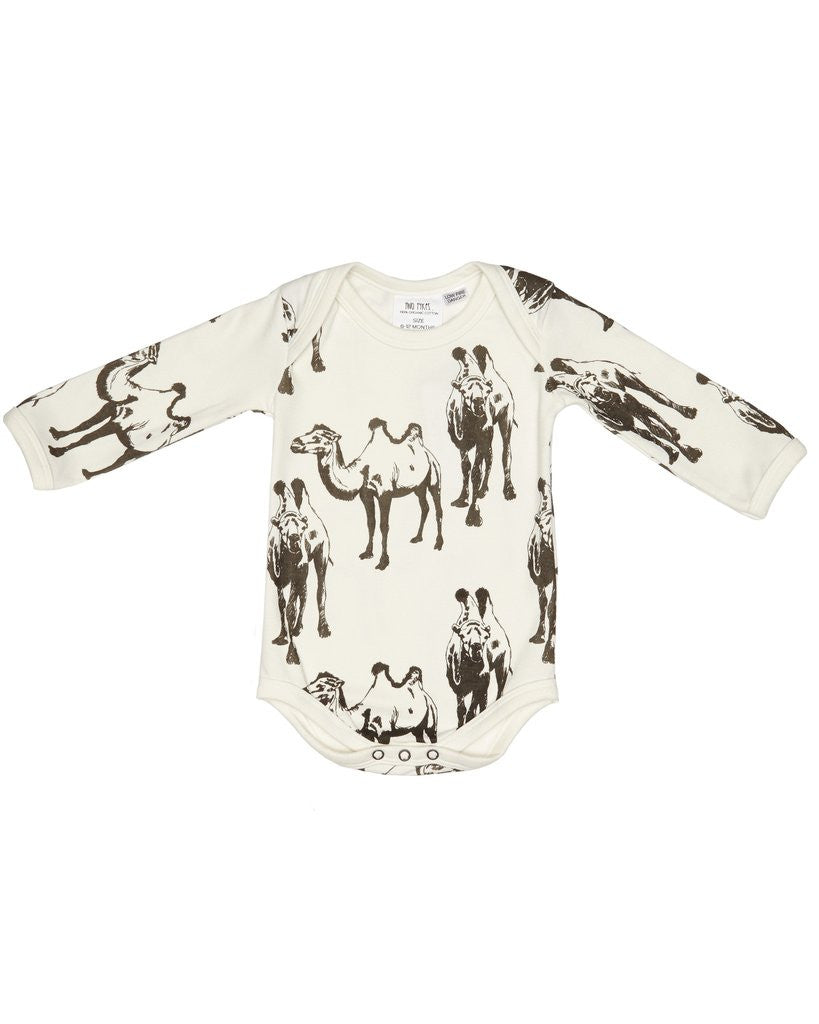 DESERT SAFARI LONG SLEEVE BABY SUIT