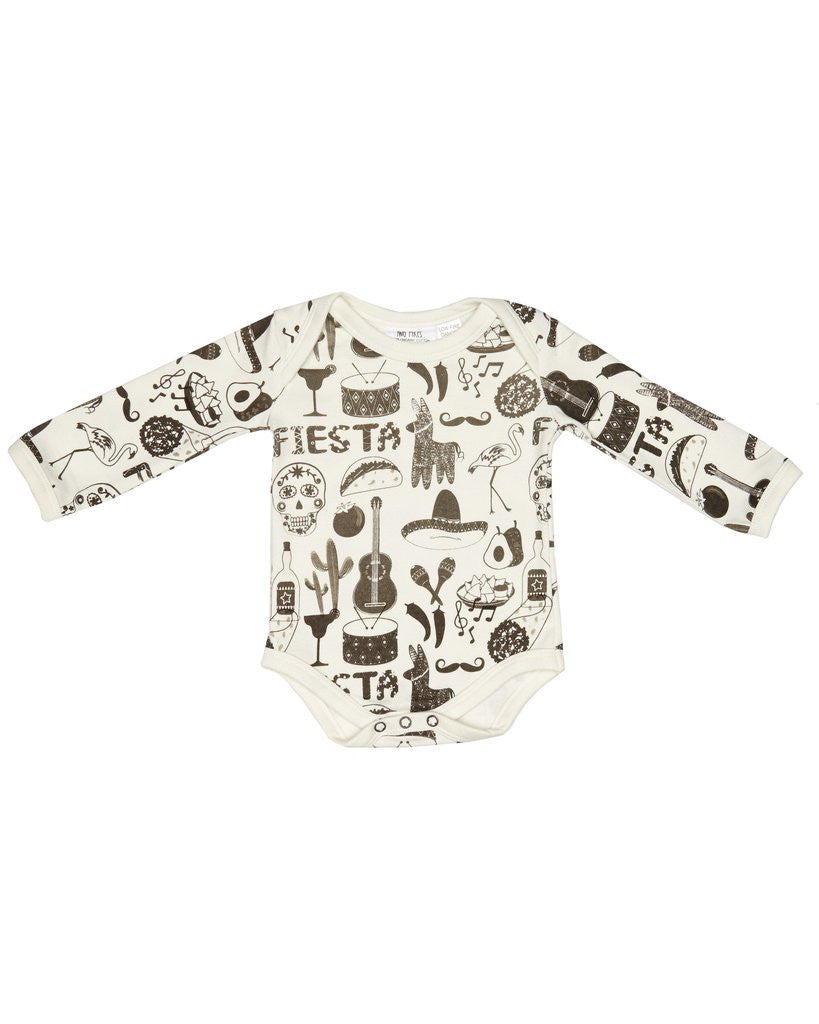 FIESTA LONG SLEEVE BABY SUIT