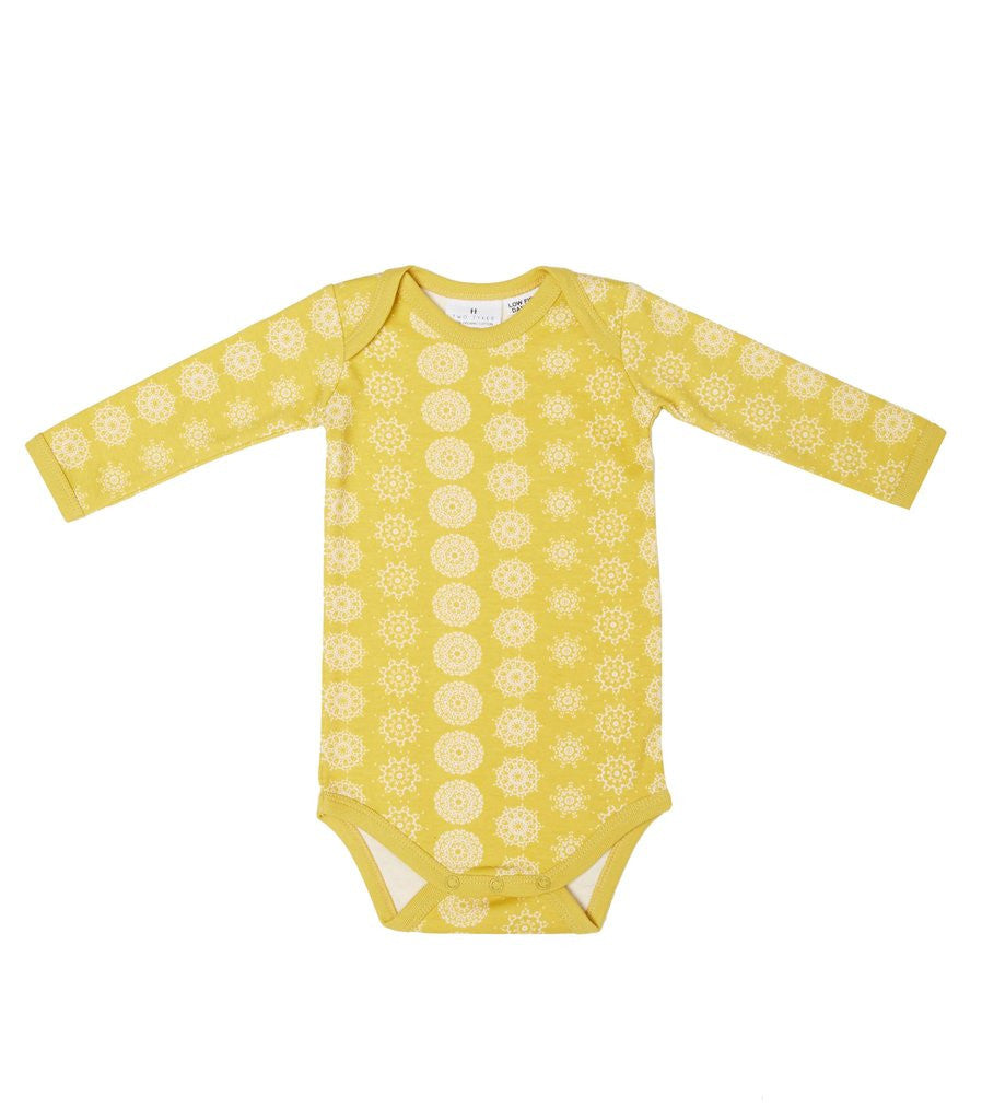 MOROCCA LONG SLEEVE BABY SUIT