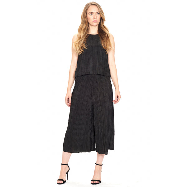 Wide Leg, Cropped Dress Pant