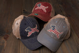 Favorite Paw Prints USA Trucker Hat