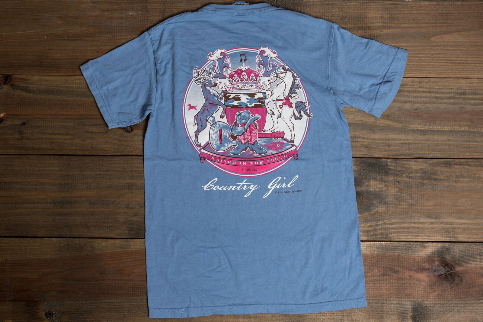 Southern Seal Country Girl Tee