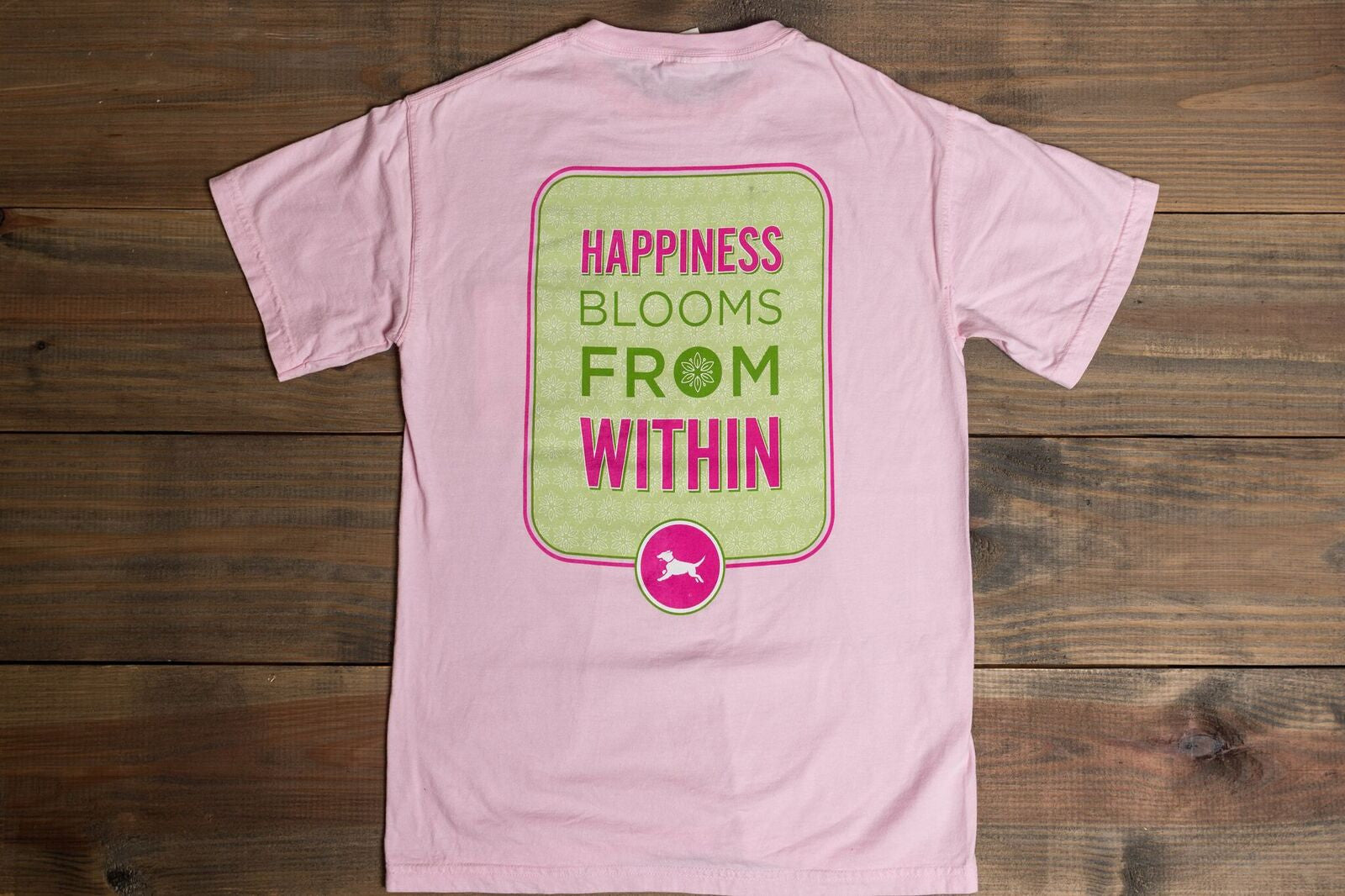 River Says... Happiness Blooms from Within - Youth Tee
