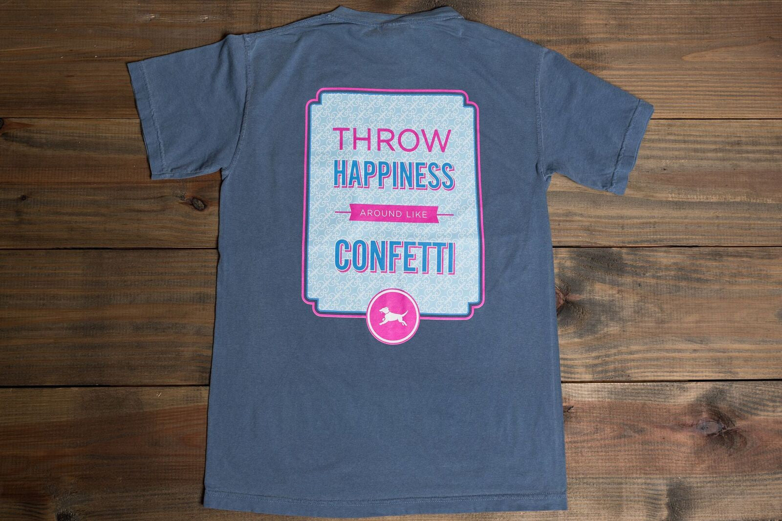 River Says... Throw Happiness around like Confetti - Youth Tee