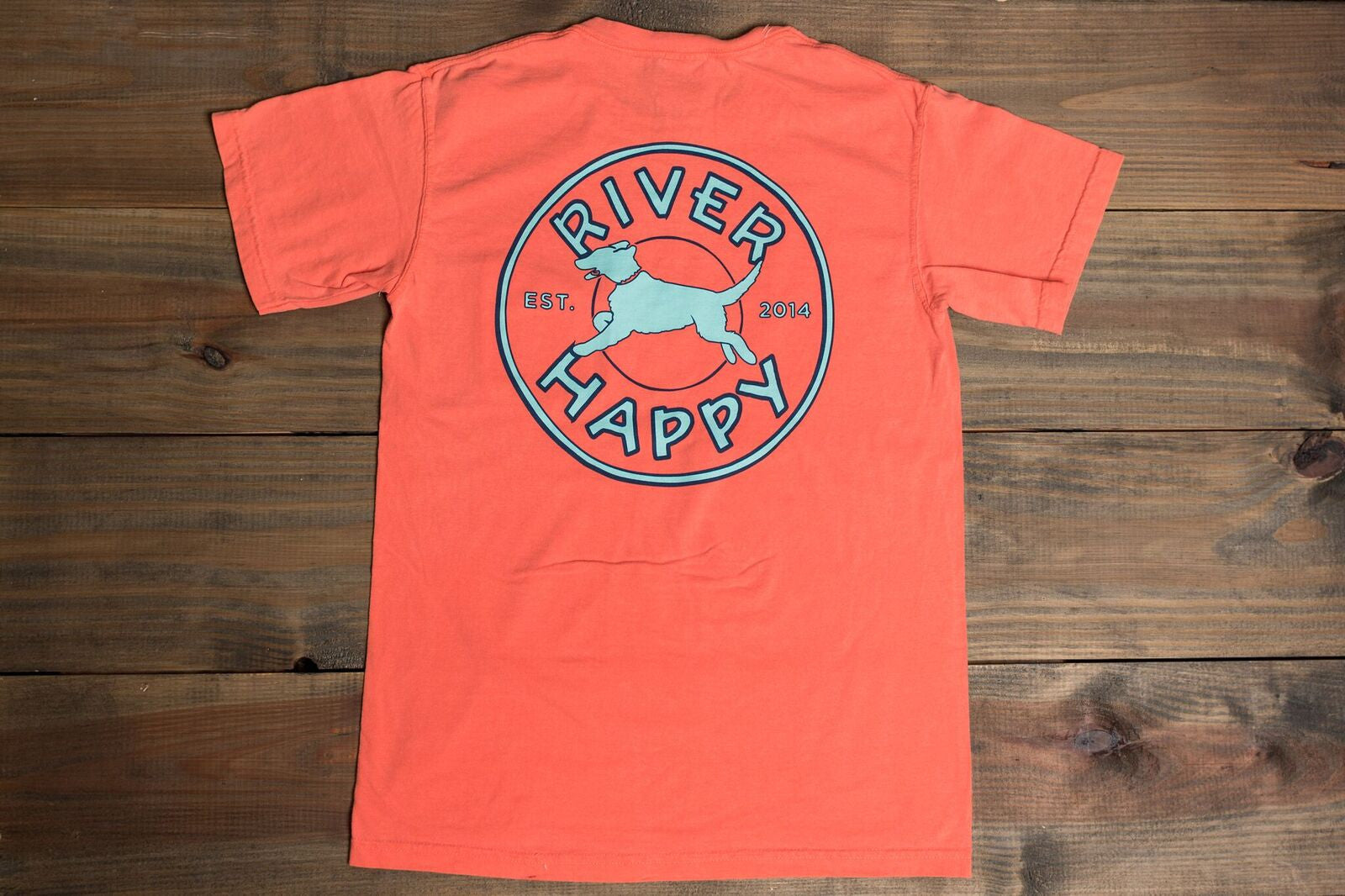 River Happy Logo Tee