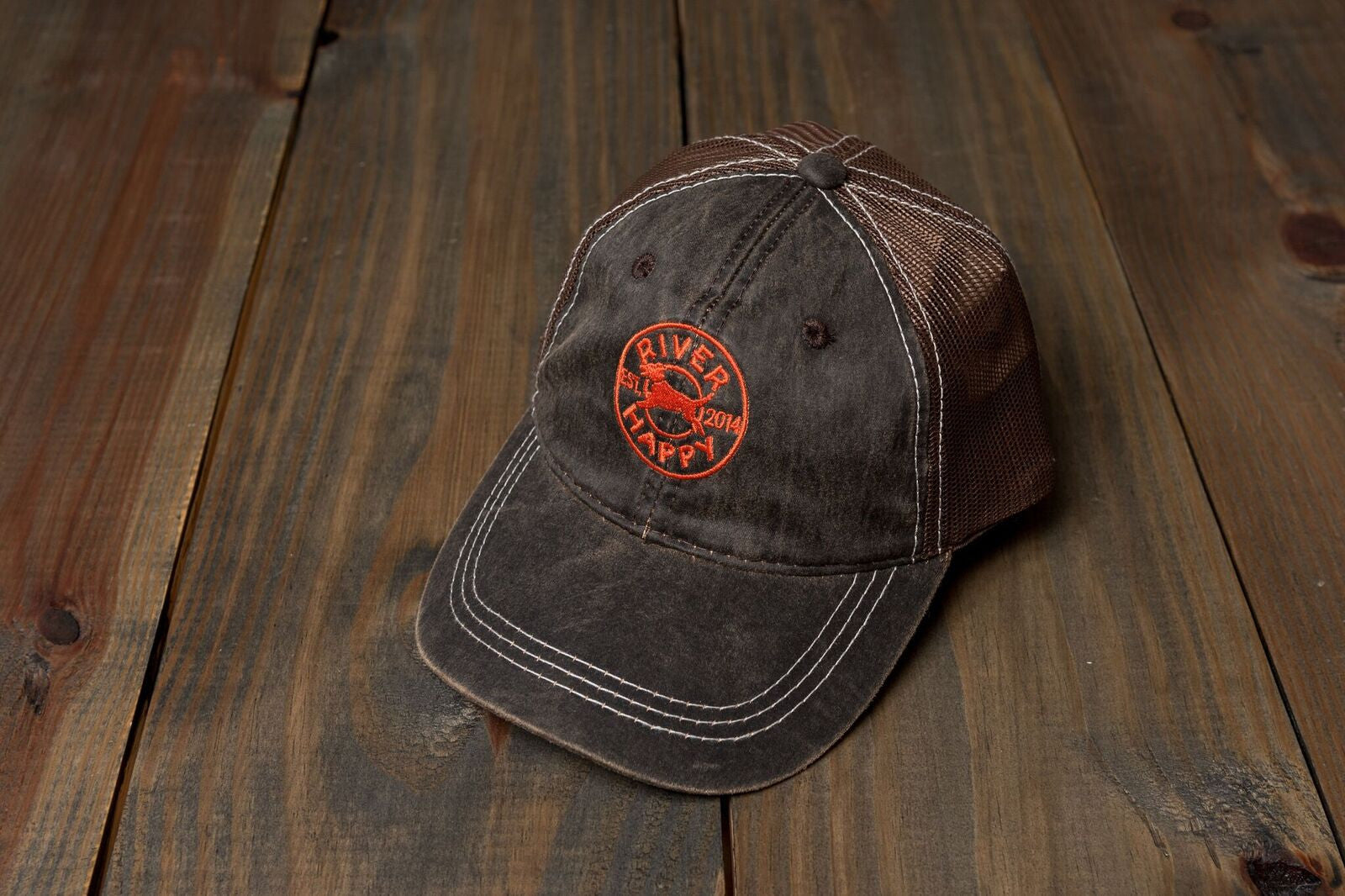 Weathered Trucker Hat