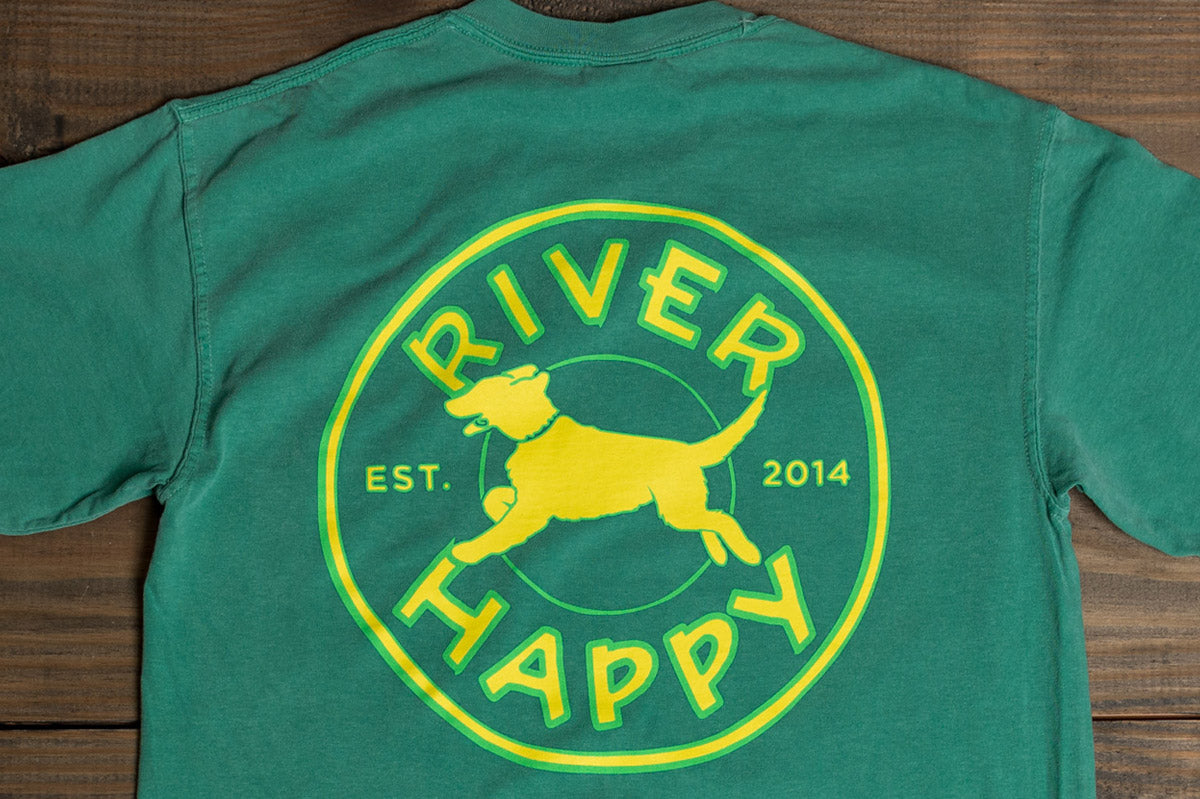 Long Sleeve River Happy Logo Tee