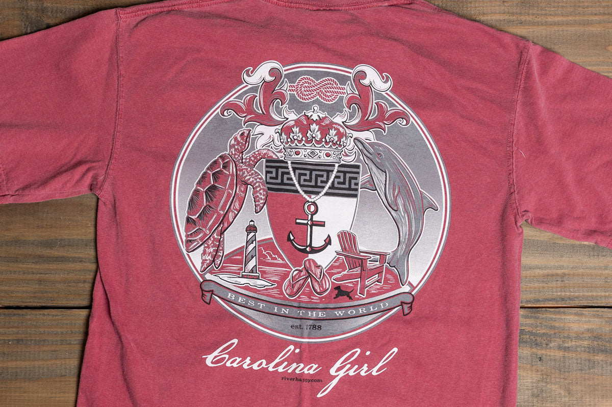 Long Sleeve Southern Seal Carolina Girl Tee