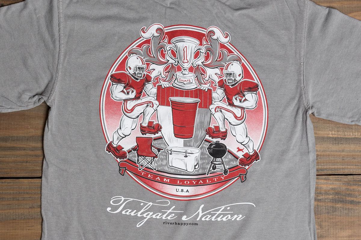 Long Sleeve Southern Seal Tailgate Nation Tee