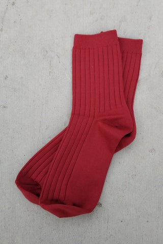 Desert Dreams Socks - Bordeaux