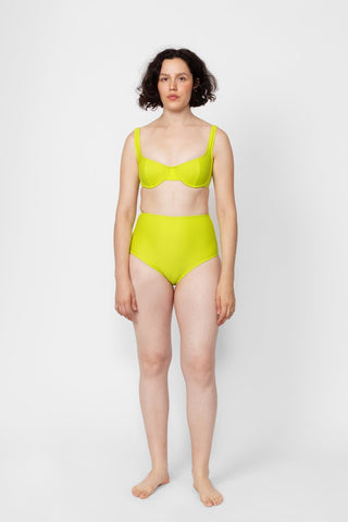 Basic High Bottom - Citron