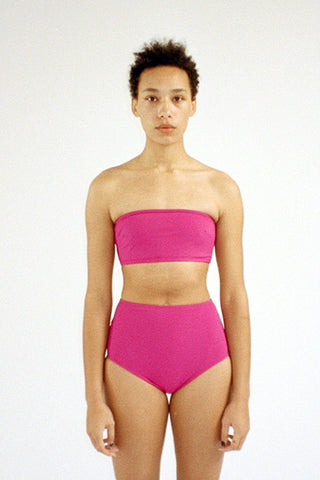 Basic High Bottom - Fuschia