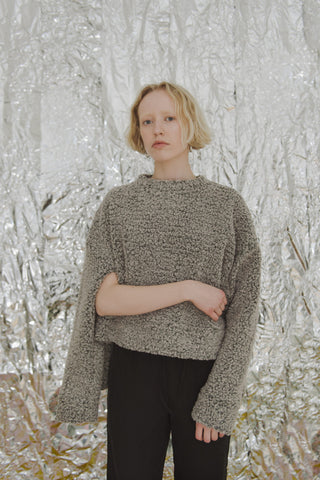 Bruna Sweater - Heather Grey