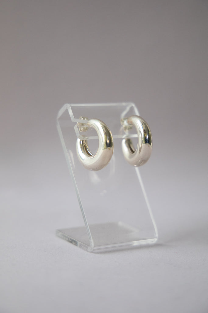 Bubble Hoops - Sterling Silver