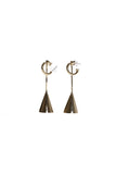 Vija Earrings - Brass