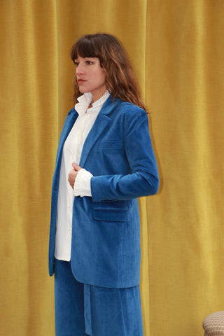 Hall Blazer - Hilma Blue