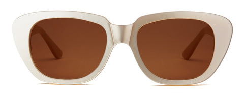 GLORIA - NACRE + BRONZE Sunglasses